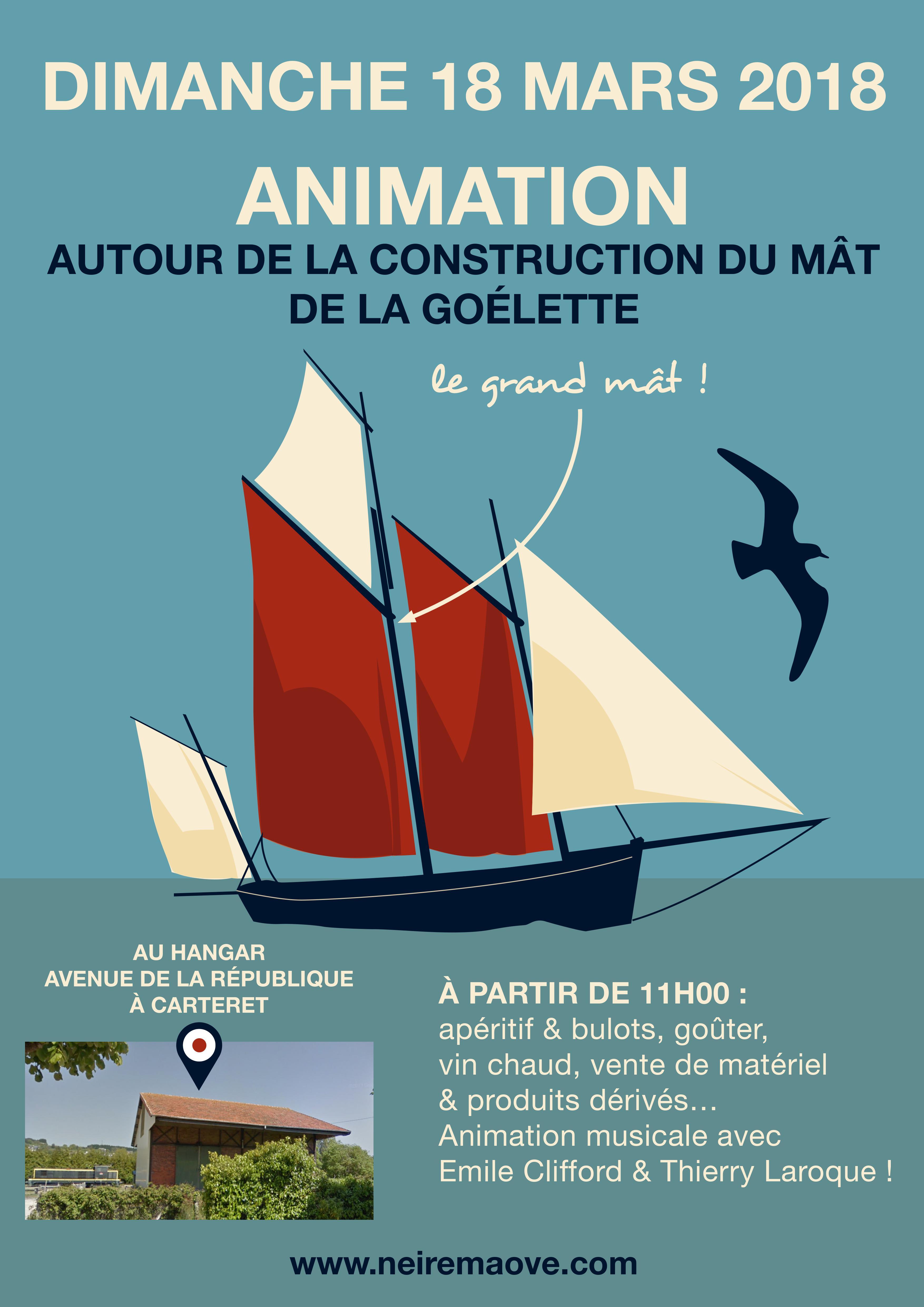 Animation autour de la Goélette du Cotentin