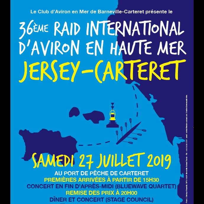Arrivée Jersey Carteret 36ème édition