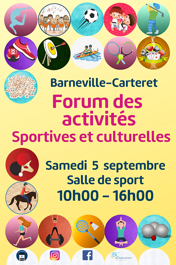 Forum des activités sportives et culturelles