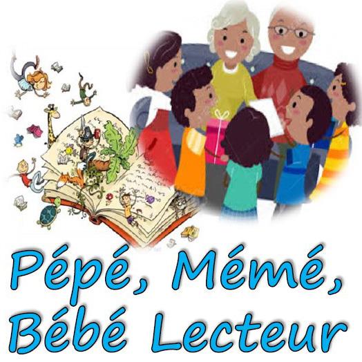 Pépé, Mémé et Bébé lecteur