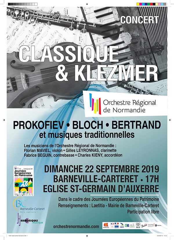 Concert par l'orchestre régional de Normandie