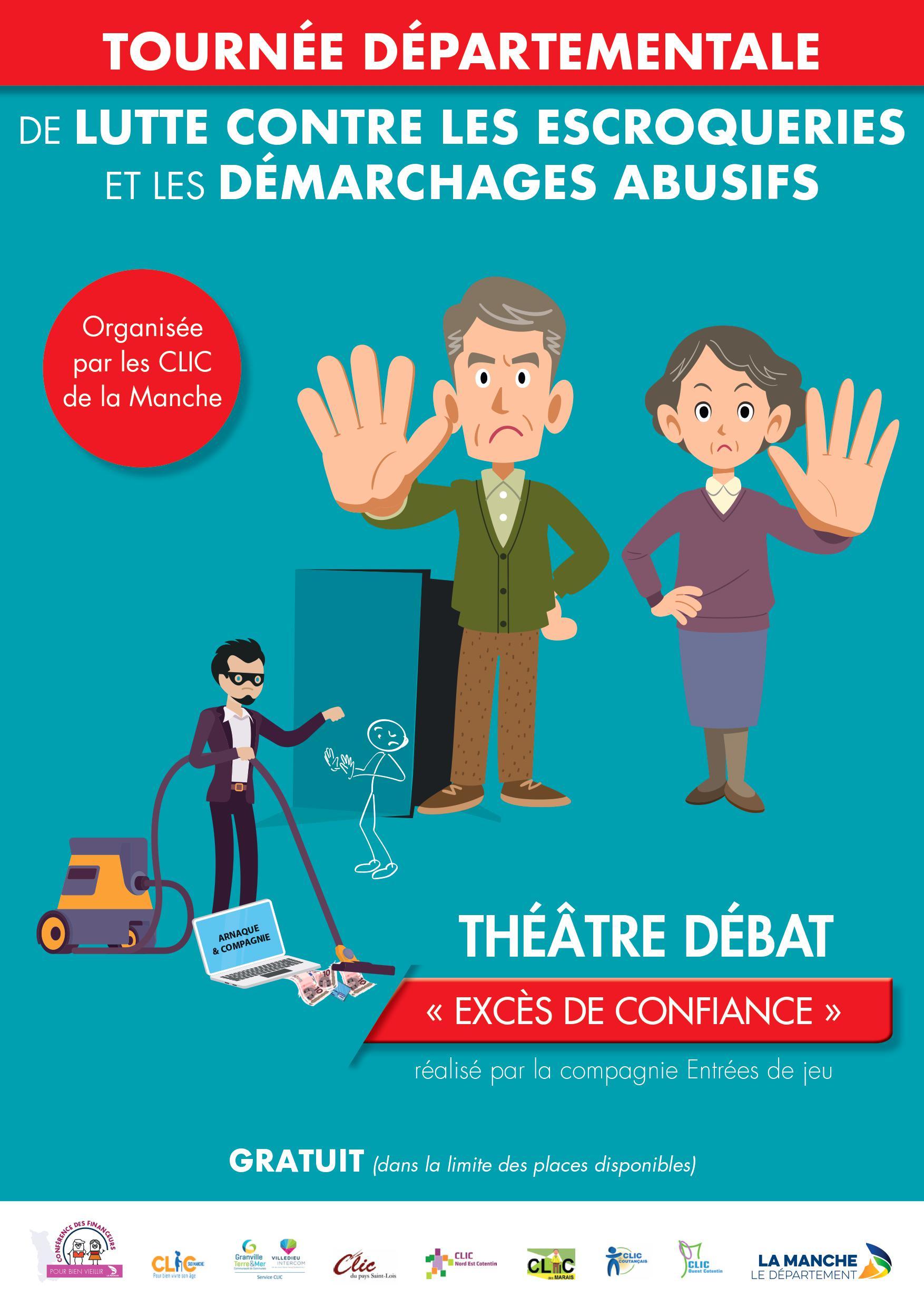 Théatre-Débat : STOP AUX ESCROQUERIES!