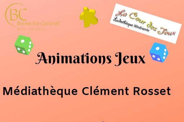 Animation jeux avec la ludothèque